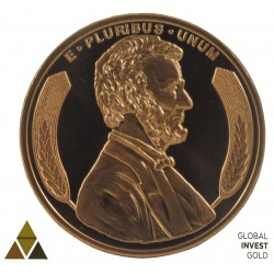 Commemorative Coin of Abraham J Lincoln
