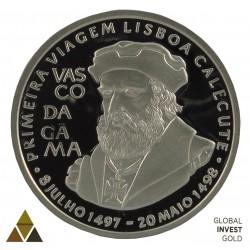 Onza de Platino Vasco de Gama