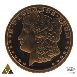 Moneda conmemorativa de Cobre Versión 4