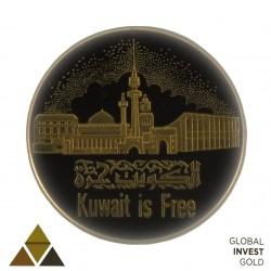 Onza de Oro Liberación de Kuwait