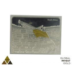 South Africa World Cup Commemorative Plaque 2010