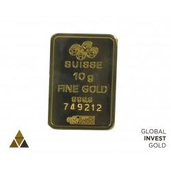 Lingote de Oro PAMP Suisse