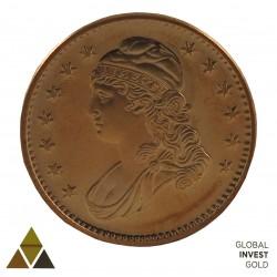 Moneda conmemorativa Cobre