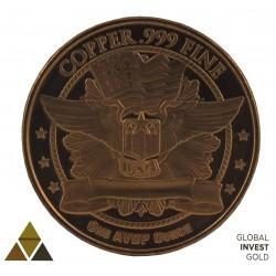 Commemorative Coin of Copper