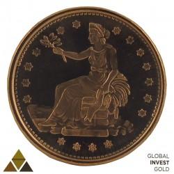 Moneda conmemorativa de Cobre Version 2