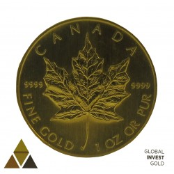 Gold Ounce Maple Leaf