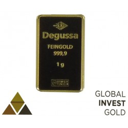 Ingot of Gold DEGUSSA In Liebe