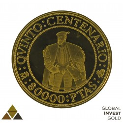 Ounce of Gold Quinto Centenario 27 g