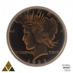 Moneda conmemorativa de Cobre Version 3