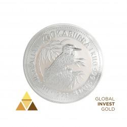 1 Kg of Silver 30 $ Australian Kookaburra (1993)