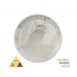 1 Kg de Plata 30$ Kookaburra Australiana (2014)