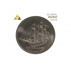 1 Oz Platinum Ship 31,10 g 2009