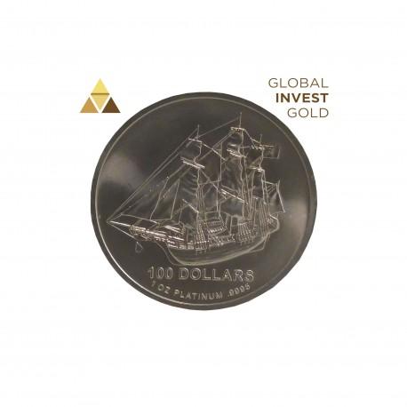 1 Oz Platinum Ship 31,10 g 2009