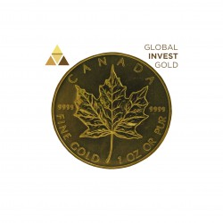 1 Oz Gold Maple Leaf 31,10 g 2010