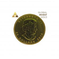 1 Oz Oro Hoja de Arce 31,10 g 2010