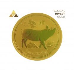 1 Oz Oro Año del Cerdo 31,10 g 2019