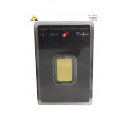 Lingote de Oro 5 g Argor-Heraeus