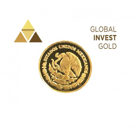Moneda de Oro EEUU Mexicano 1999
