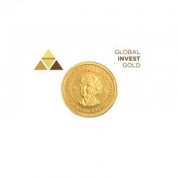 Moneda de Oro Aruba 10 Florin