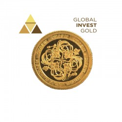 Moneda de Oro Eire 2007