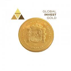 Moneda de Oro España 2007-20 Euros.