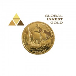 Moneda de Oro Fiji 2006
