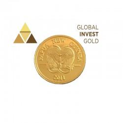 Moneda de Oro Papua Nueva Guinea 2011