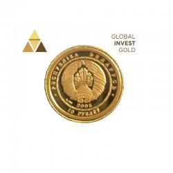 Moneda Oro Rusia 2005