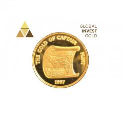 Moneda Oro Samoa 1997