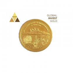 Moneda  Oro Seychelles 2011(25 Rupees)
