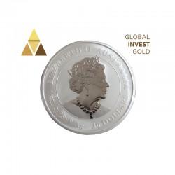 Moneda de Plata 1kg Mouse 2020