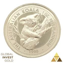 Platinum Coin Australian Koala 1998