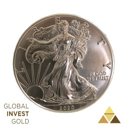 Ounce of Silver Liberty 2020