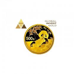 Moneda Oro Panda 2020